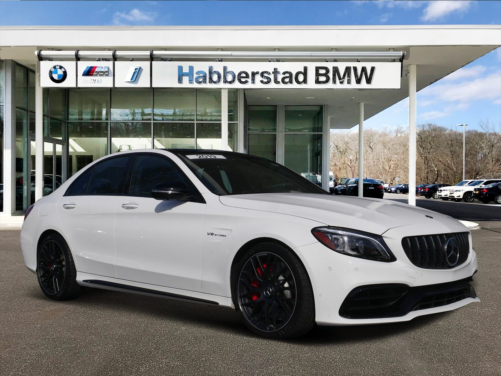 Pre-Owned 2019 Mercedes-Benz C-Class AMG® C 63 S Sedan