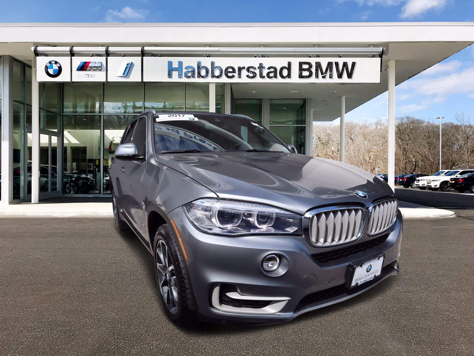 Certified Pre Owned 2017 Bmw X5 Xdrive35i Sports Activity Vehicle Sport Utility In Bay Shore Bb5446 Habberstad Bmw Of Bay Shore