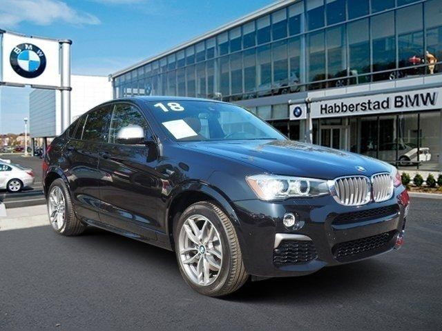 Pre-Owned 2018 BMW X4 M40i Sports Activity Coupe