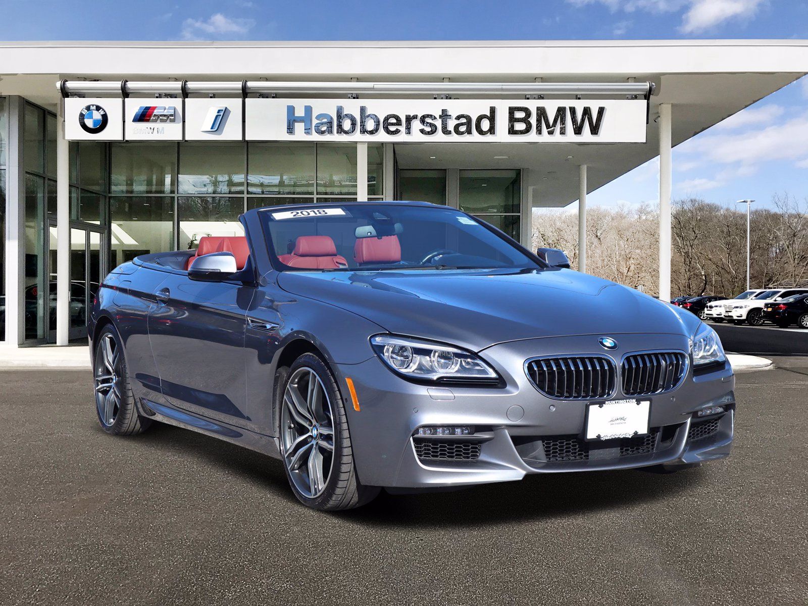 Pre-Owned 2018 BMW 6 Series 650i xDrive Convertible