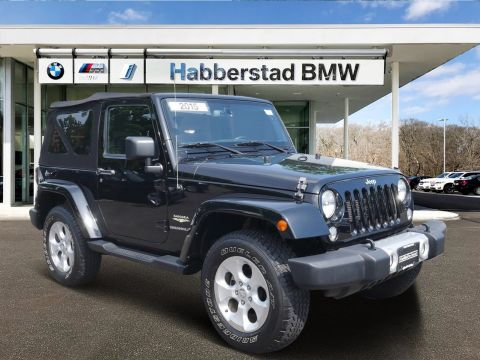 Pre-Owned 2015 Jeep Wrangler 4WD 2dr Sahara
