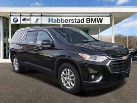Pre-Owned 2018 Chevrolet Traverse FWD 4dr LT Cloth w/1LT