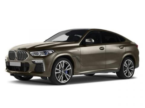 New 2020 BMW X6 M50i Sports Activity Coupe