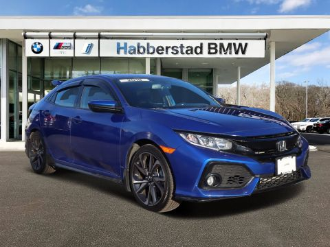 Pre-Owned 2018 Honda Civic Hatchback Sport Manual