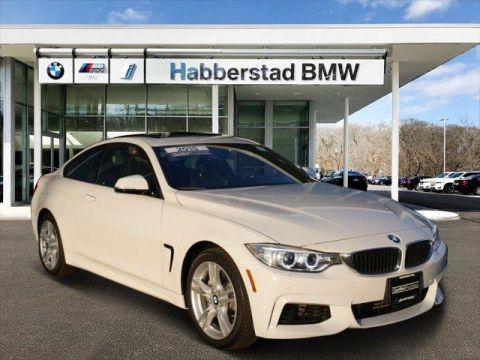 Certified Pre-Owned 2015 BMW 4 Series 2dr Cpe 435i xDrive AWD 2dr Car