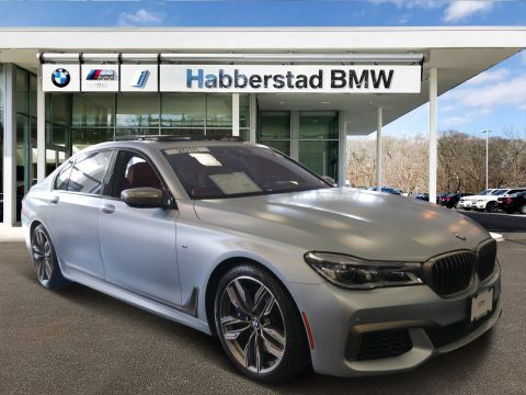 Certified Pre-Owned 2018 BMW 7 Series M760i xDrive Sedan