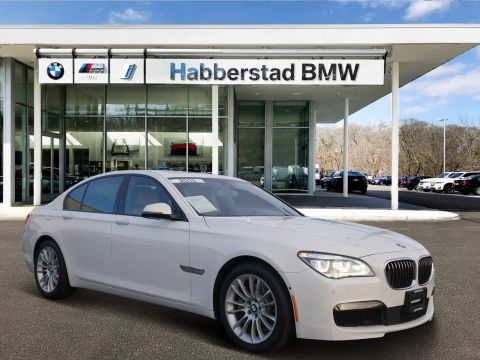 Certified Pre-Owned 2015 BMW 7 Series 4dr Sdn 750i xDrive AWD