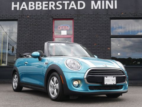Pre-Owned 2017 MINI Convertible Cooper FWD